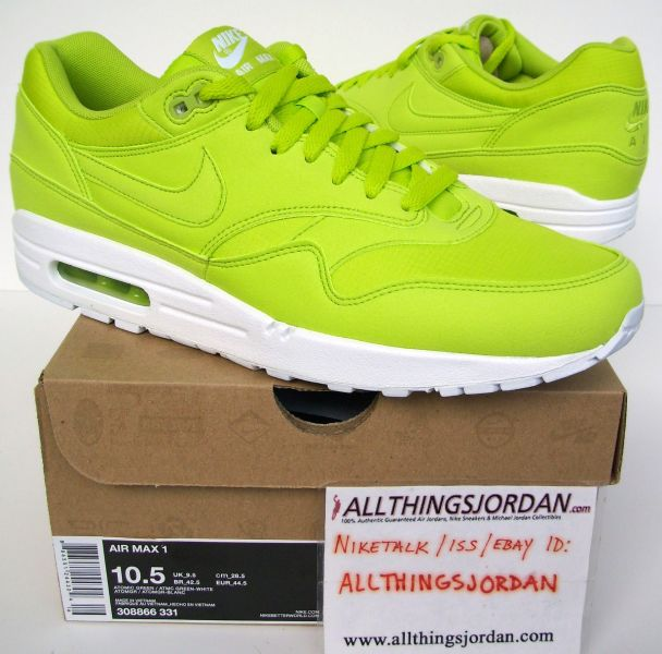 1 Max White Air Tennis Ball 308866 Nike Green Greenatomic atomic EgqOBwwn