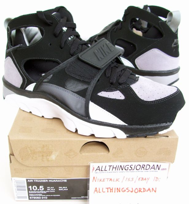 new concept f6ed3 c8b09 ... where to buy nike air trainer huarache black medium grey white 679083  010 size fa877 85b5a