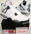 Retro 4 White Cement