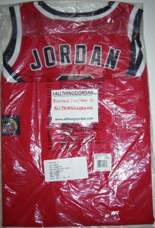 pretty nice bd9f9 0a85e Authentic Michael Jordan Los Angeles 1984 USA Olympic Jersey